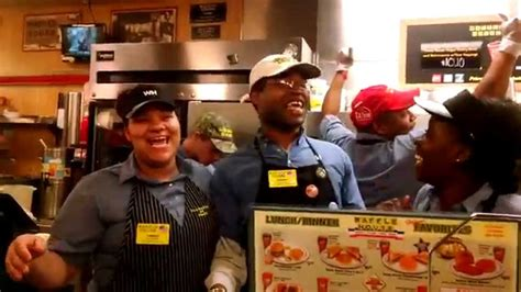 waffle house birthday birthday song at waffle house youtube