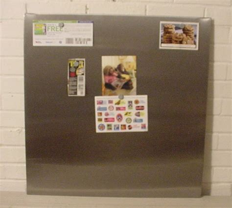 magnetic bulletin board stainless steel magnetic bulletin memo board 27 quot x27 quot