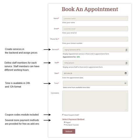 hair salon appointment book template appointment booking theme 2017 service biz
