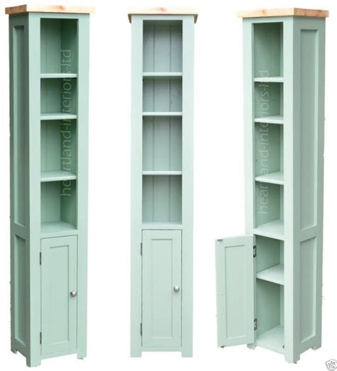 Narrow Wooden Bookcase Details About 100 Solid Wood Bordeaux F B Painted Narrow Bookcase With Cupboard