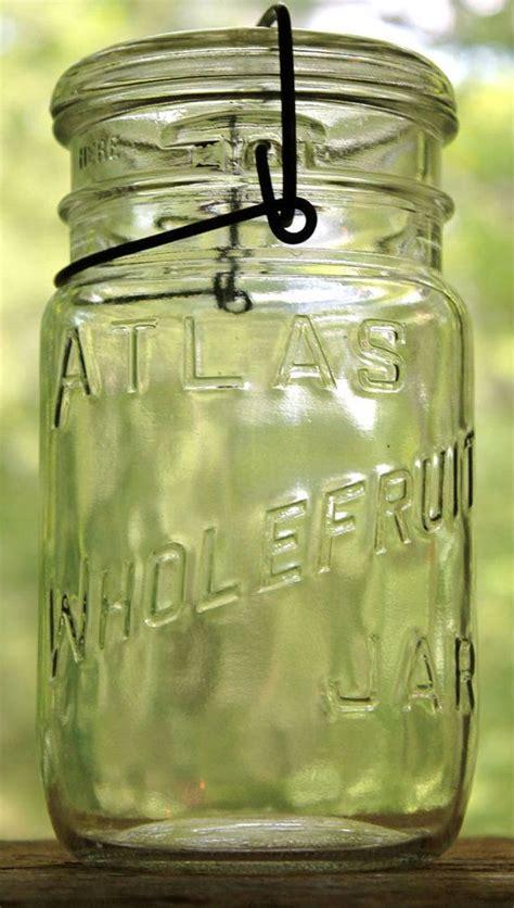 Jar 700ml Widemouth Pin Half vintage atlas clear wholefruit widemouth jar