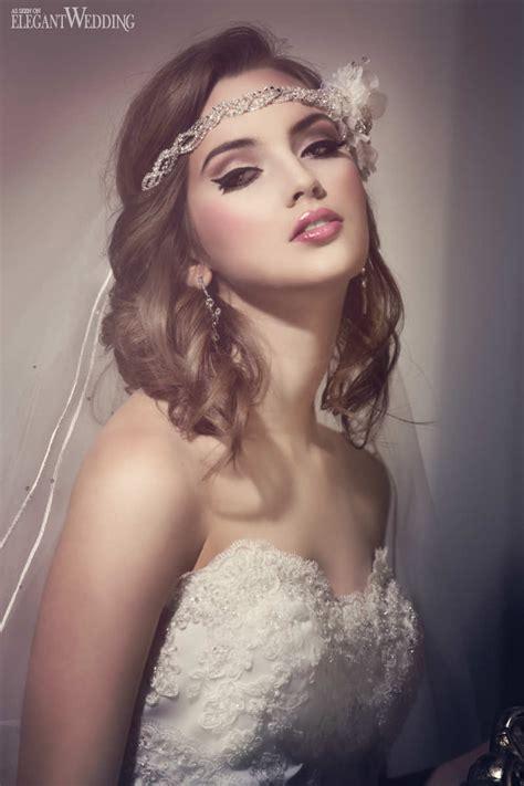 Vintage Wedding Hair And Makeup by Bridal Makeup Hair Elegantwedding Ca
