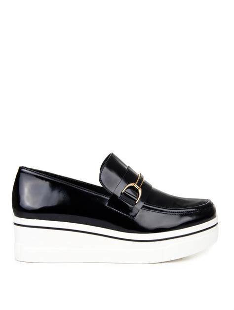 stella mccartney platform loafers stella mccartney binx faux leather platform loafers