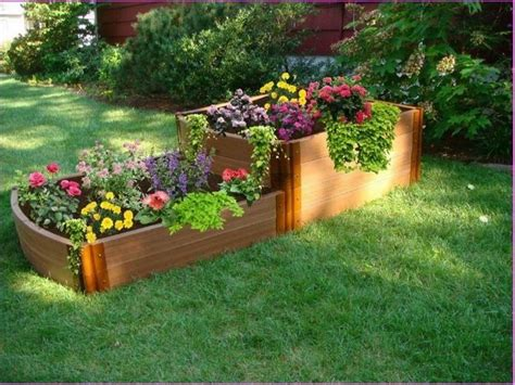 raised flower bed plans wood pallet raised garden beds recycled things