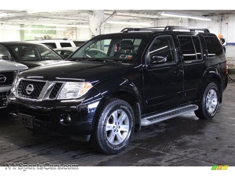 black nissan pathfinder 2009 nissan pathfinder se 4x4 in super black 613955