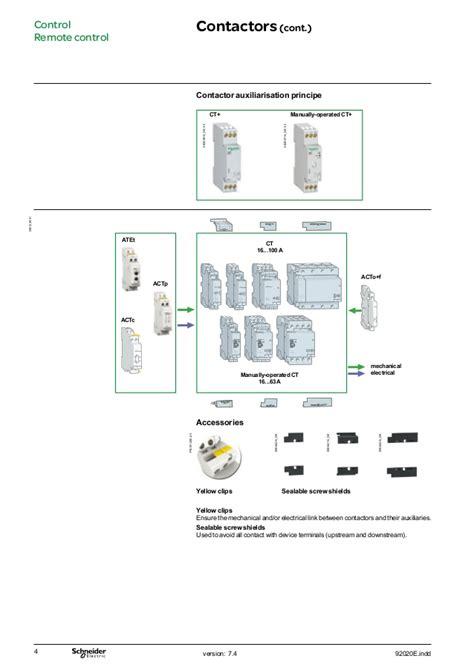 telemecanique contactor wiring diagram contactor