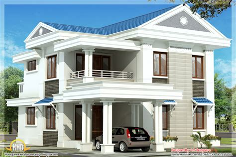 home blue beautiful blue roof home design 1570 sq ft kerala