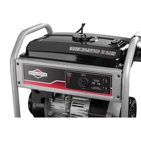 briggs stratton 30550 3500 watt gas powered
