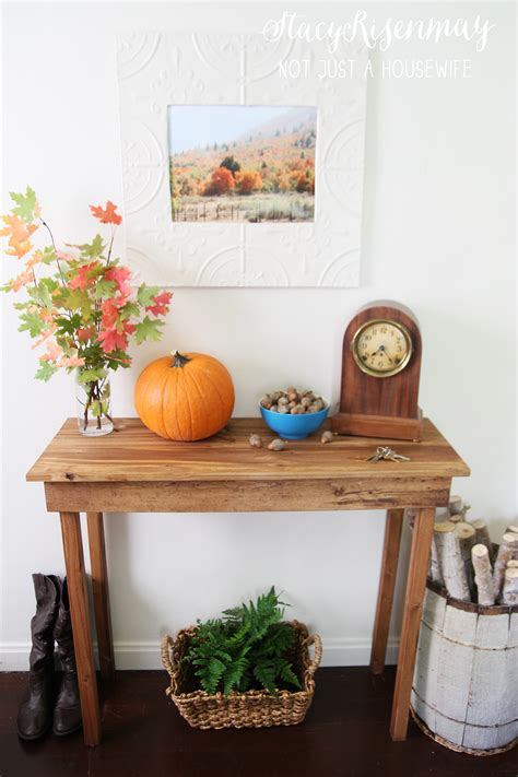 build  simple entryway table stacy risenmay