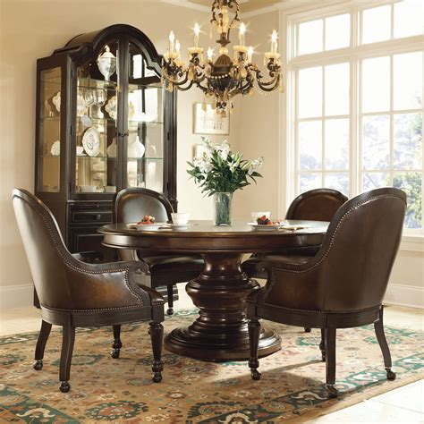 large dining room set bernhardt normandie manor 5pc dining room set with