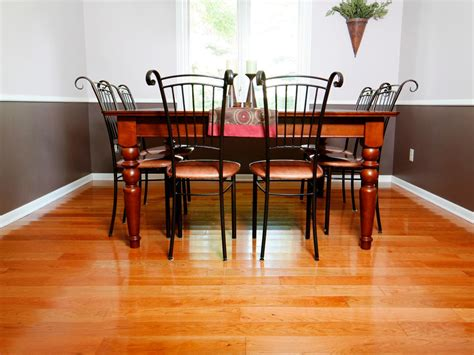 Dining Room Hardwood Floors How To Install Prefinished Solid Hardwood Flooring How