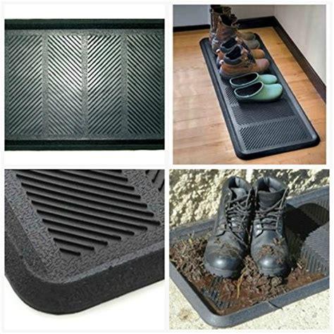 large rubber mudroom boot shoe indoor outdoor floor mat