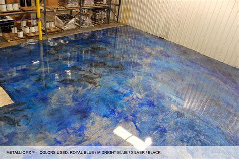 SURFKOAT? Unveils New Metallic Epoxy Concrete Floor