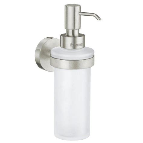 brushed nickel soap dispenser bathroom bathfashion com offers smedbo sme 245827 bath soap