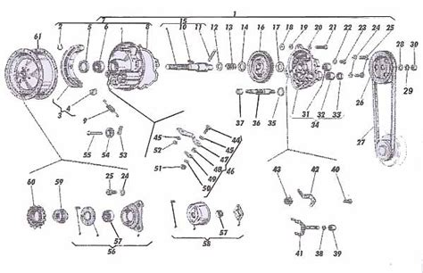 Sella Maxi Original ciao getriebe explosionszeichnung gesucht sf motor