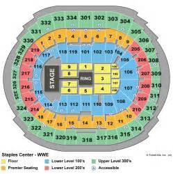 staples center seating chart seating chart staples center