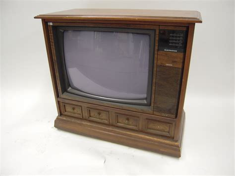 console tv pin vintage console tv on