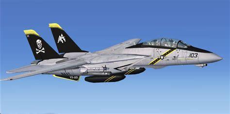 F F S us navy f 14d tomcat repaint two pak for fsx