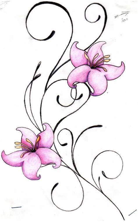 surf flower tattoo designs flower designs for tattoos