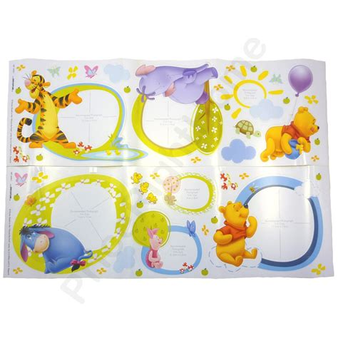 winnie the pooh stickers for walls winnie the pooh 46 deco photo wall stickers new ebay