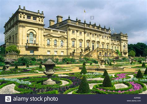 harewood house harewood house stately home leeds west yorkshire england home of stock photo