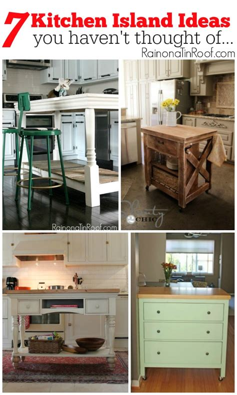how do you build a kitchen island 7 kitchen island ideas you t thought of