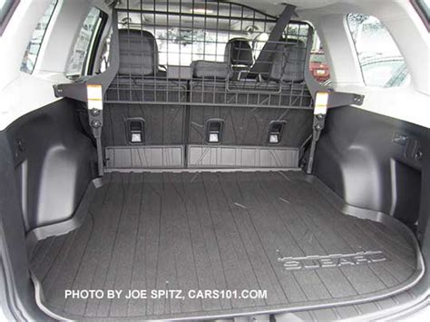 cargo mat for 2017 subaru forester 2017 subaru forester options and upgrades page