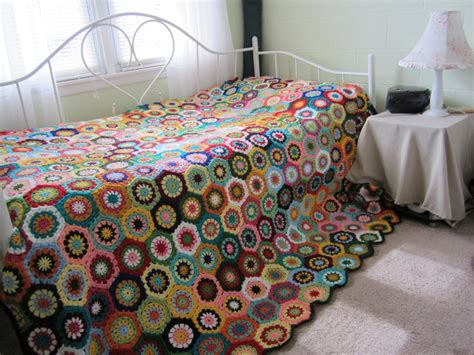 crochet comforter granny square crochet queen size afghan