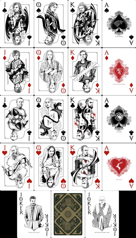 Of Thrones Board Card Template by Of Thrones Cards By Mafaka On Deviantart