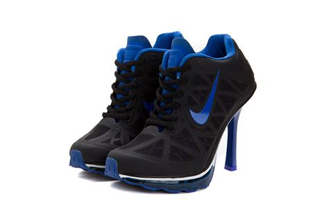black nike high heels womens nike air max 95 high heels sneakers black blue