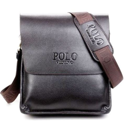 Tas Merek Coach Kulit Asli 2014 desainer baru polo videng merek kulit asli hitam coklat kualitas pria utusan tas bahu tas