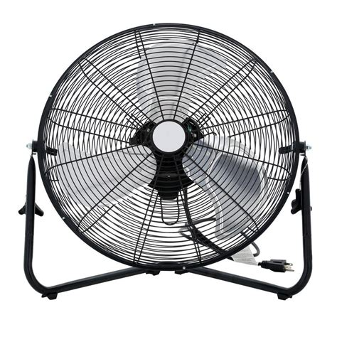 fans home depot 20 in 3 speed high velocity floor fan sfc1 500b the