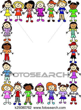 clipart per bambini clipart seamless bambini amicizia modello 2