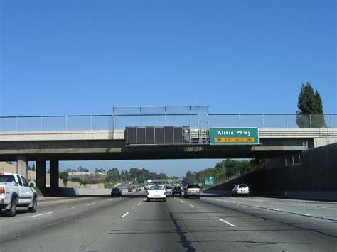 Alisha Exit california aaroads interstate 5 south orange county
