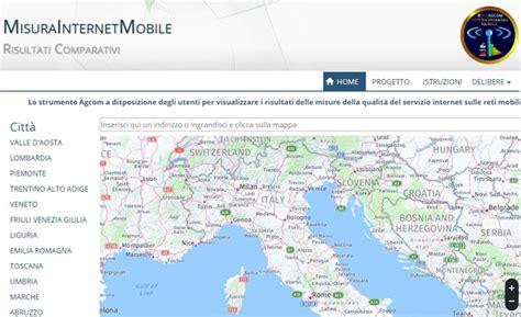offerte operatori telefonici mobili misura mobile mappa delle velocita offerte