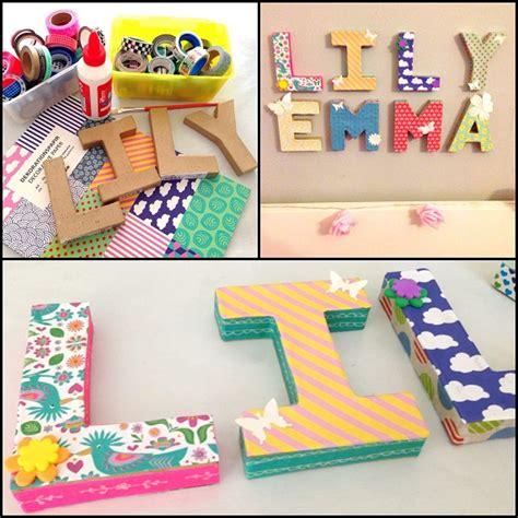 decoracion de letras en carton 3d diy archivos bakeordie