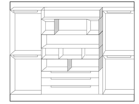 moduli per cabina armadio idee il progetto di flavia una cabina armadio a vista