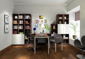 trendy wall color for study room 3d house