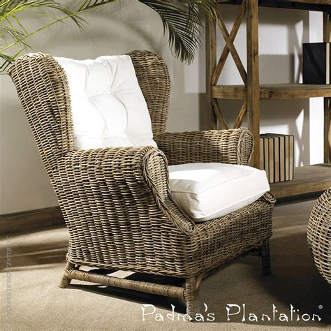 Outdoor Cing Chairs by Outdoor Kubu Wing Chair Padma S Plantation