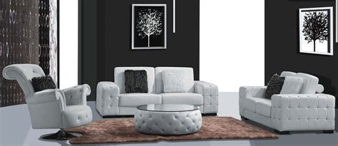 modern lounges modern leather lounge 3 2 1seat white and black warehouse