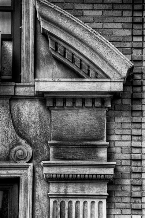 black and white new york city architectural details fotoarchitectura