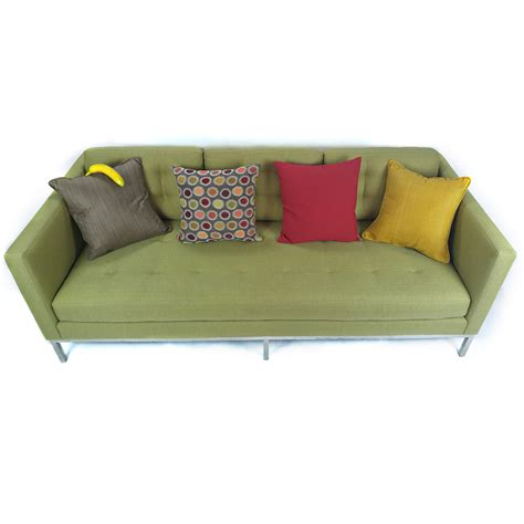 room and board sofa 72 off crate and barrel crate barrel axis ii seat