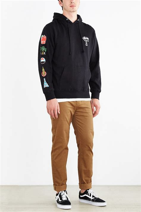 flags of the world hoodie lyst stussy world tour flags pullover hoodie sweatshirt