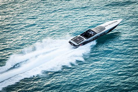 cigarette boat project for sale i rode in the mercedes amg cigarette racing 515 project