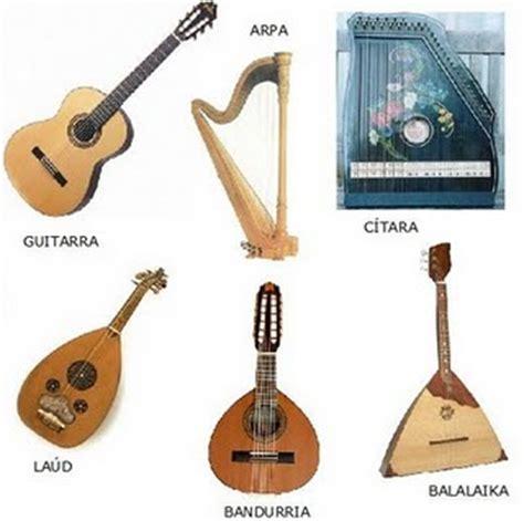 imagenes de instrumentos musicales egipcios musicaesguia instrumentos cord 243 fonos