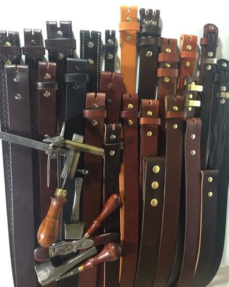 custom leather belts made to your specifications