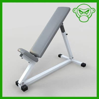 incline benching incline bench 3d 3ds