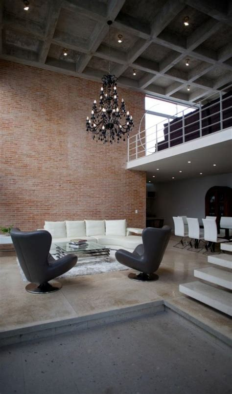 wall panels interior design delectable lighting minimalist minimalist house with an industrial touch in canun mexico