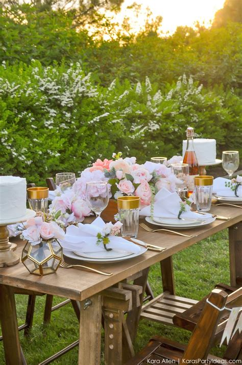 Garden Decoration Free by Kara S Ideas Garden Tablescape Free