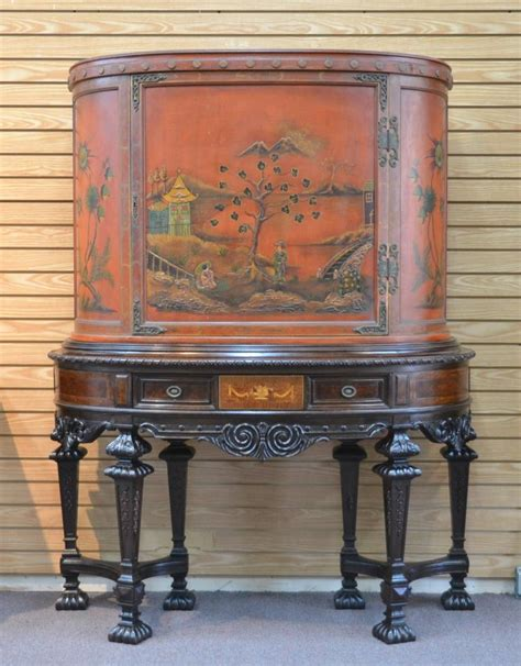 Rockford Furniture Company by Rockford Furniture Co Chinoiserie Silver Chest